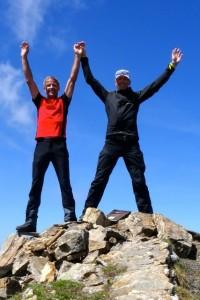 Am Gipfel der Vorderen Grauspitze - 2.599 m